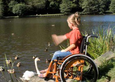 Kinder Aktiv Rollstuhl