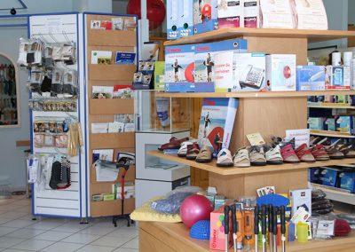 Sanitätshaus Hinrichsen Geschäftsraum