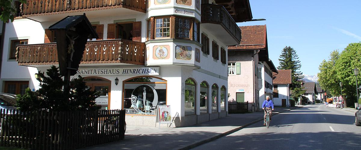 Sanitätshaus Hinrichsen Garmisch-Partenkirchen